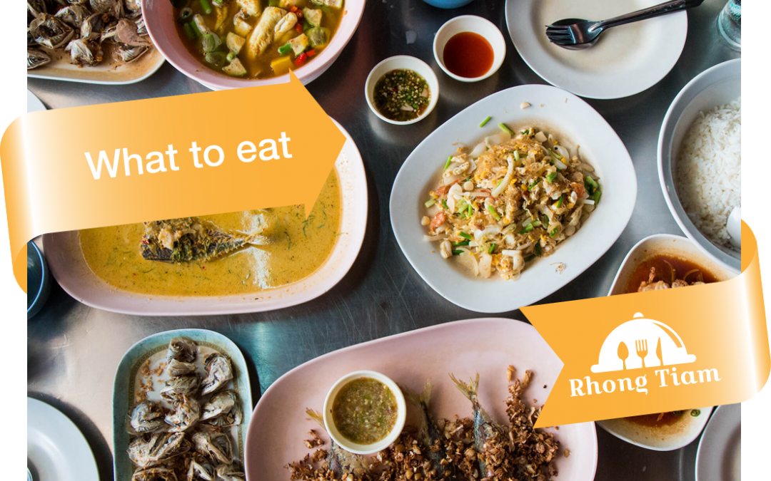 Food tips – what to eat in Thai restaurant